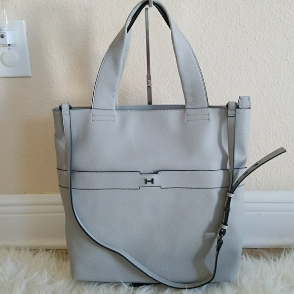 H by Halston Handbags - H by Halston Pebble Leather Tote Handbag 9a7c00b0f3e01